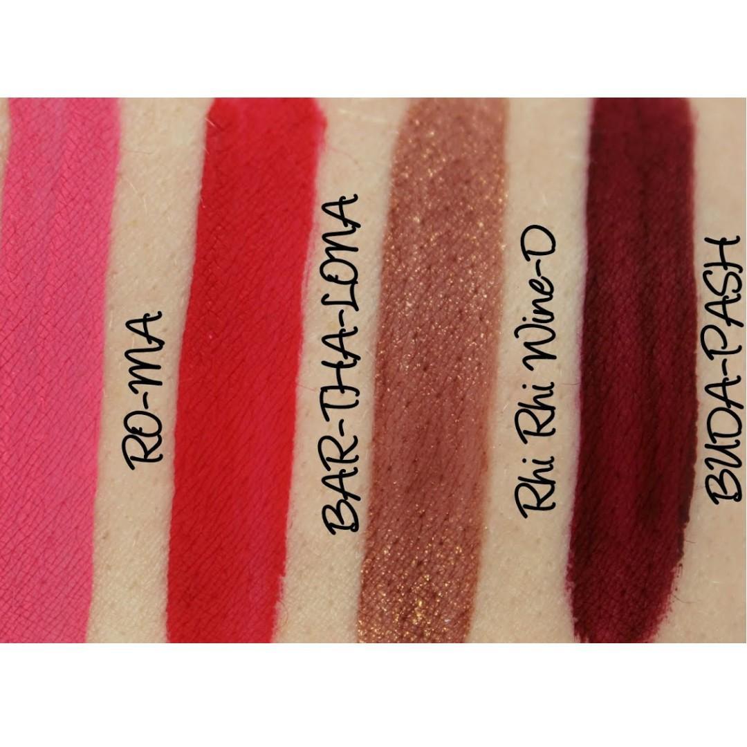 VELOUR Matte Lip Cream (in Rhi Rhi Wine-D) (Brand: australis) | Pucker Up