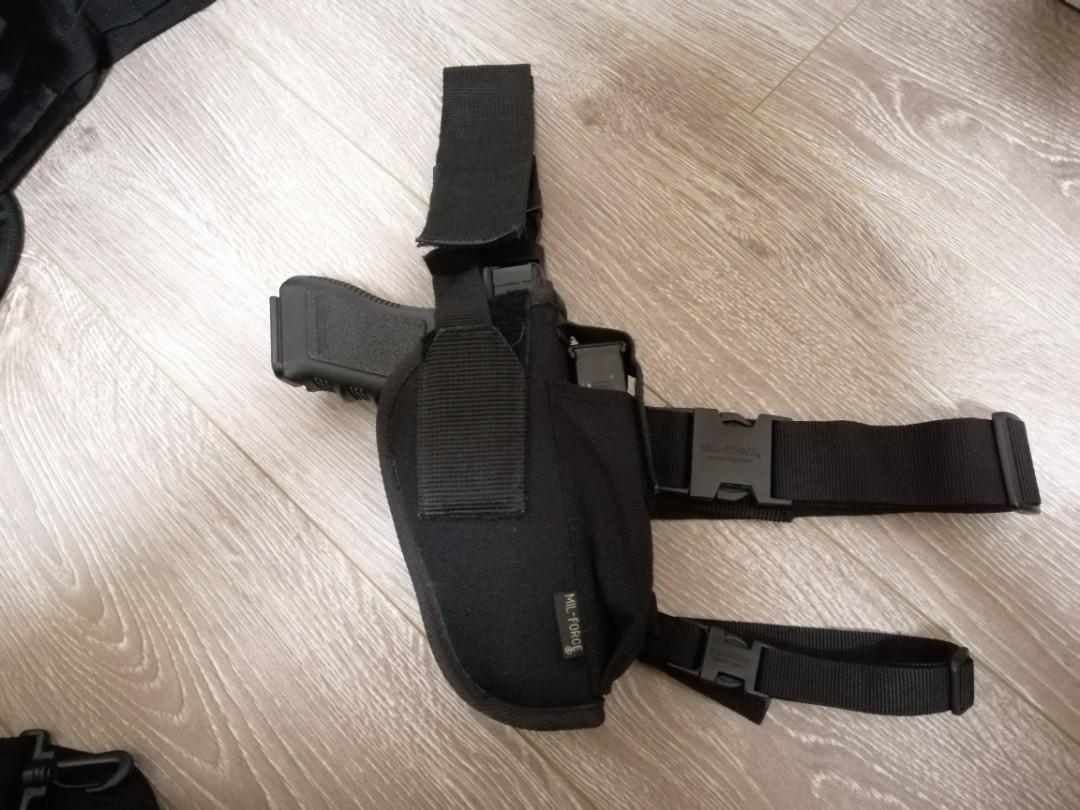 War Game 背心裝備袋槍袋彈匣袋全套