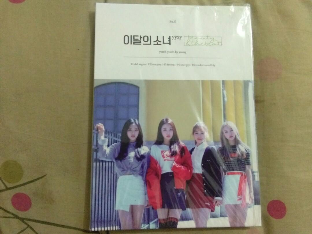 [WTS/ READYSTOCK] LOONA yyxy beauty&thebeat NORMAL UNSEALED