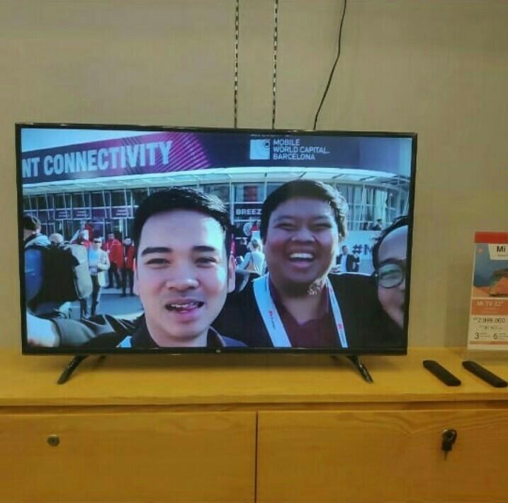 Xiaomi LED Smart Tv 43 Inch Nya Bisa kredit Dp 600.000 Aj