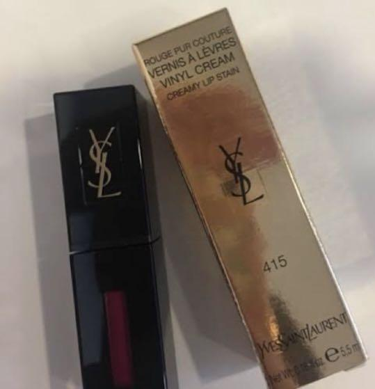 YSL VINYL CREAM LIP STAIN