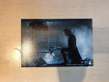 Avengers Endgame 親筆簽名 Tom Hiddleston Loki Hans signed autograph Marvel Hot Toys Collector must have item Infinity War Thor Loki 9x6 size