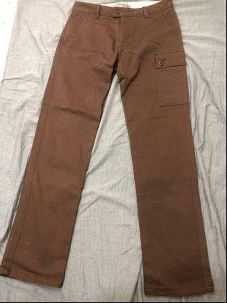 🚚 WALLY 咖啡色長褲