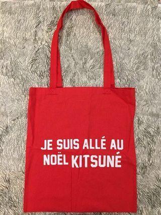Maison Kitsune Noel Tote Bag
