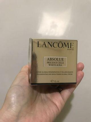Lancome White Aura Cream 美白面霜 15ml