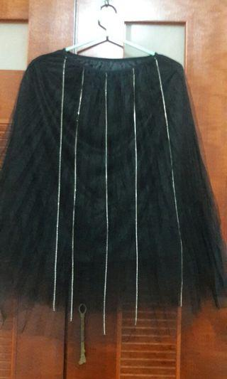 🚚 鍊鑽紗裙