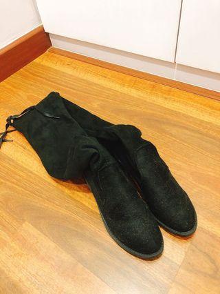 Long Boots Mid Heel 4.5cm