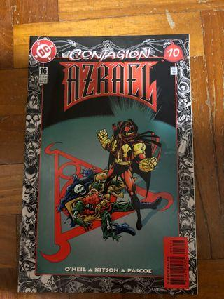 AZRAEL CONTAGION #16 April 1996