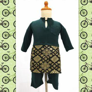 JUMPER KURUNG BABY #baju #kurung #kurong #songket #samping #boys #infants #hari raya #malay #cute #jubah
