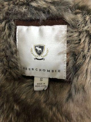 美國abercrombie 刷毛外套