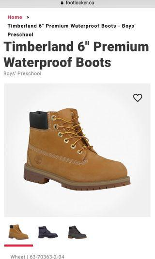 Timberland Winter Boots size 5.5