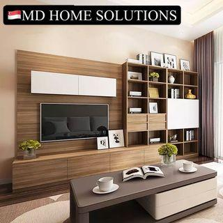 MD HOME Concept - Professional TV Feature Wall / Console