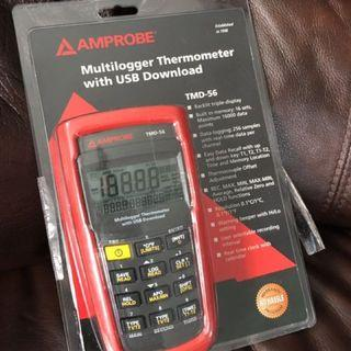 Multilogger thermometer with USB download TMD-56 BNIB