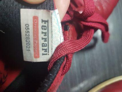 🚚 puma × 法拉利 銀標賽車鞋