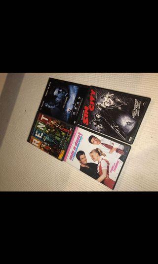 Assorted dvd (14 total)