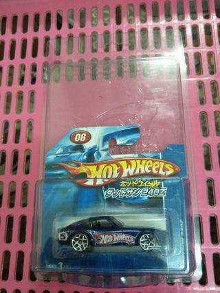 Hotwheels datsun 240z japan card