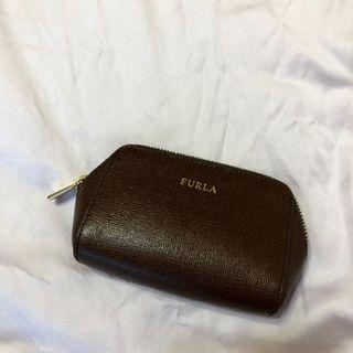 [FURLA] Dark Brown Pouch / Wallet