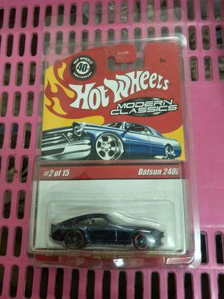 Hotwheels Modern Classic Datsun 240z RARE ITEM
