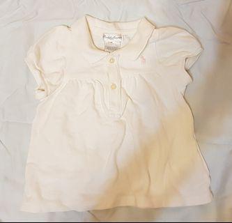 RL polo女童衫(6m)