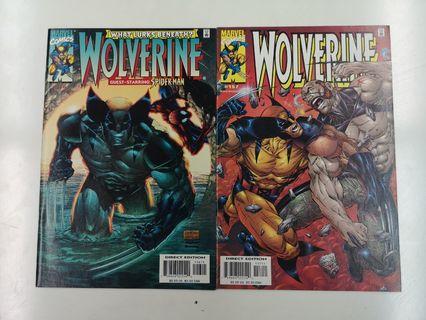 Wolverine Going Underground (1988 1st Series) Comics Set