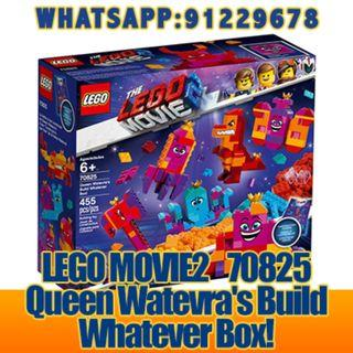 THE LEGO MOVIE 2: Queen Watevra's Build Whatever Box   70825  ღ E-holiday ღ