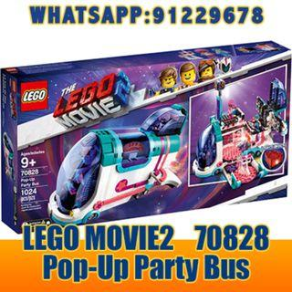 THE LEGO MOVIE 2: Pop-Up Party Bus   70828  ღ E-holiday ღ