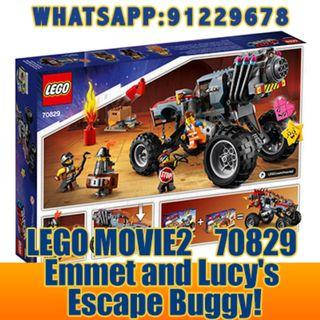 THE LEGO MOVIE 2: Emmet And Lucy's Escape Buggy  70829    ღ E-holiday ღ