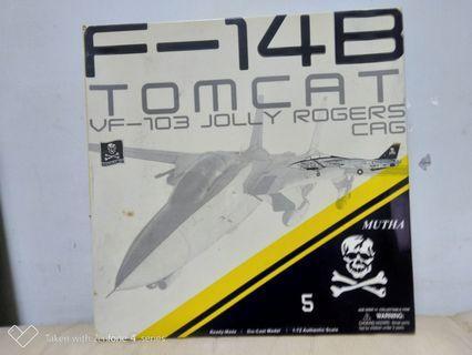 美國空軍戰机F-14B(金屬)上色完成品。