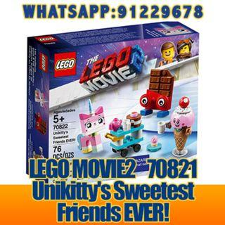 THE LEGO MOVIE 2: Unikitty's Sweetest Friends EVER   70822  ღ E-holiday ღ