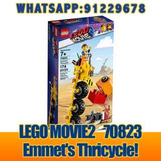 THE LEGO MOVIE 2: Emmet's Thricycle   70823  ღ E-holiday ღ