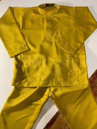 Baju Melayu Kanak Kanak (Harga Mengikut Size)