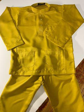 Baju Melayu Kanak-Kanak (Harga Mengikut Saiz)
