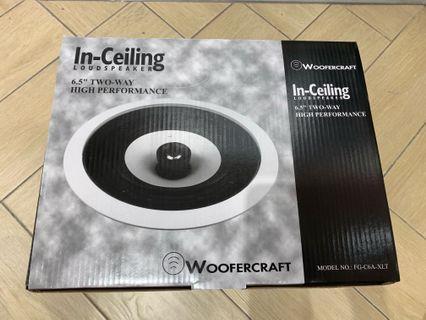 WooferCraft Ceiling Speaker(BN)