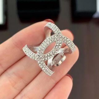 Chanel閃石長戒指