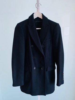 Zara coat in Navy - Size S