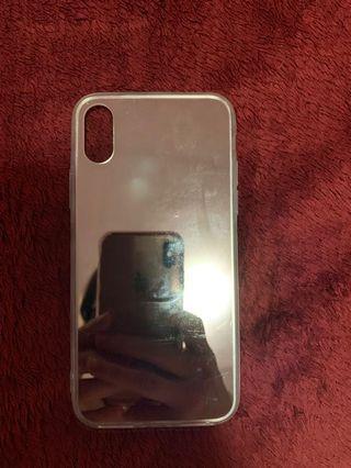 🚚 iPhone X /xs 鏡面手機殼