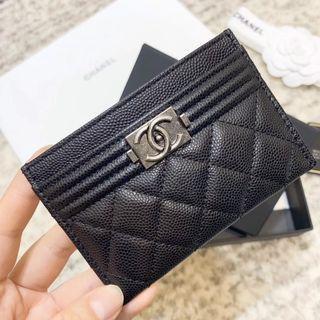 Chanel Leboy Card Holder 小牛皮卡片套
