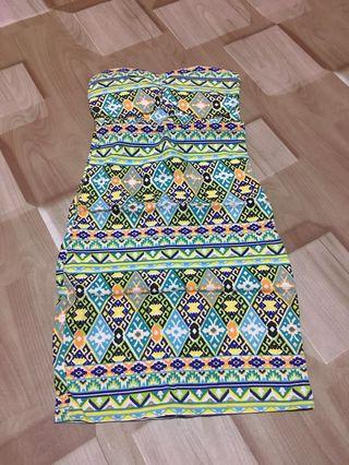 Dress with detailed back