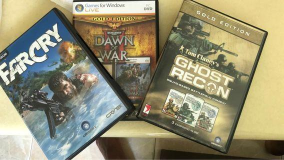 🚚 Farcry+Dawn of War +Ghost Recon Gaming DVD