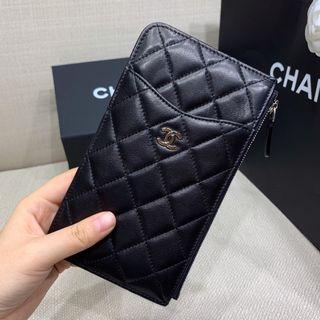 Chanel小羊皮多功能銀包 (張柏芝同款)