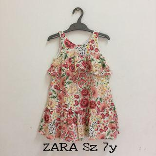 Flower Dress. Dress anak. Dress Zara