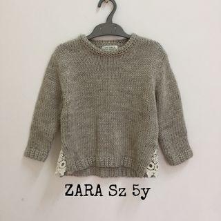 Sweater. Baju Hangat Anak Zara