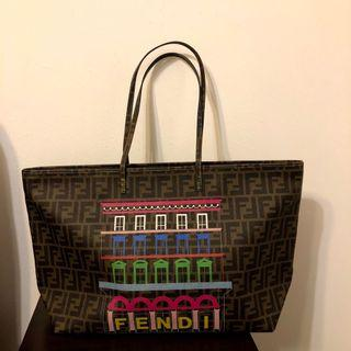 [FENDI] Big Colorful Seam Tote Bag