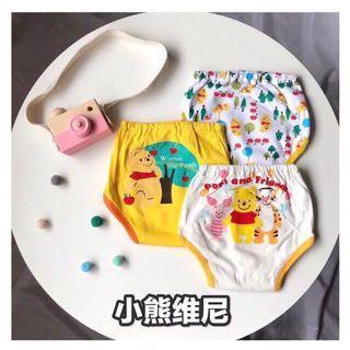 3pcs Baby Potty Training Pants New Born Cartoon Underwear