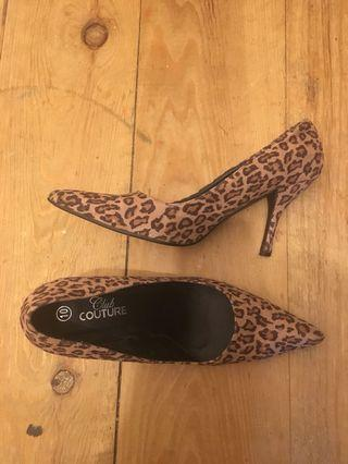 Cheetah shoes size 10