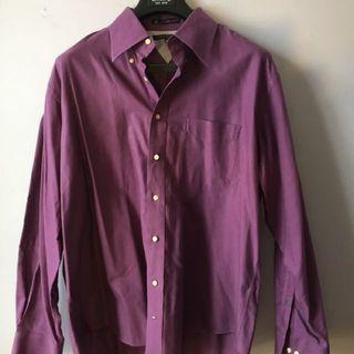 Tommy Hilfiger purple dress shirt