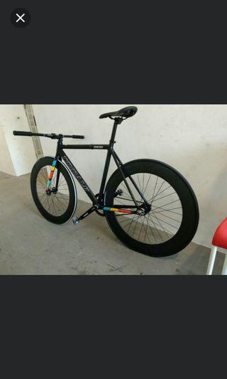 Tsunami Full bike except wheelset