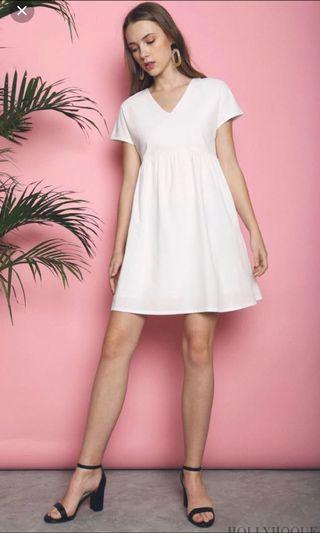Hollyhoque Sofi Basic Babydoll Dress