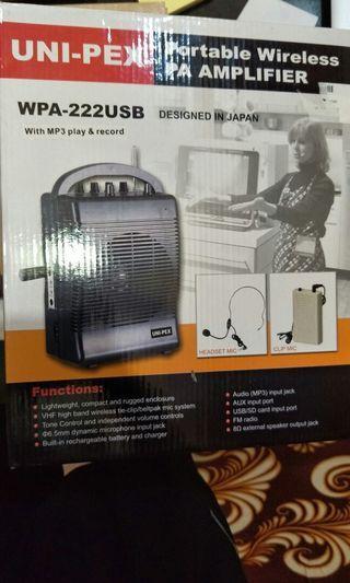 Portable Wireless PA