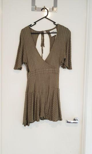 Boho Khaki Dress #SwapAU